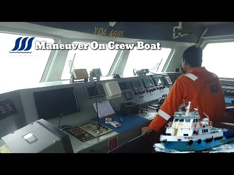 Skill of the fast crew boat maneuvering | CB.INASELA @PMT JABUNG OFFSHORE