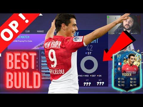 FIFA 21 BEST STRIKER (ST) Build 🤯 l FIFA 21 Pro Clubs l BEN YEDDER TWIN (Traits & Tips) 🔥 |