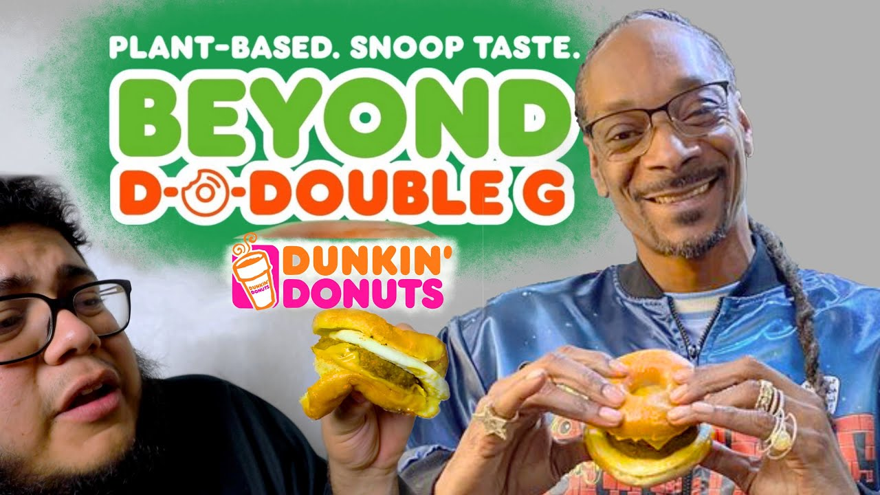 Snoop D-O-Double G Sandwich from Dunkin' Donuts! #FoodieMovie