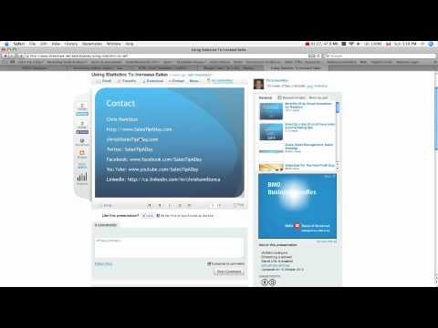 Using SlideShare to Generate Sales Leads