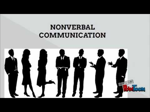 dominice in non verbal communication Students discuss how people employ different types of non-verbal  communication to express themselves and interact with others—and how these  types of.