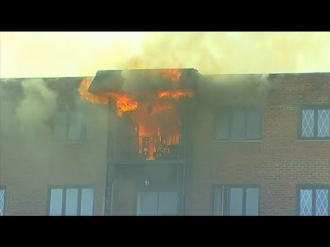 Elderly woman killed in apartment fire near Des Plaines