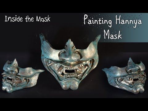 Resin hannya mask lower jaw