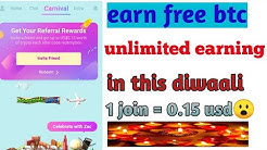 Earn unlimited btc 0.15 usd per refer loot||free paypal earning  loot fast