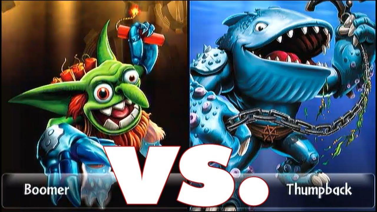 Skylanders giants boomer 15 vs thumpback 15 lets play duellmodus german deutsch youtube - Skylanders thumpback ...