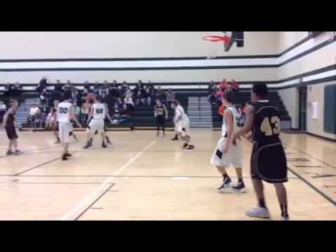 Akshdeep Singh, manager of Pendleton Heights Middle school, scores 8 points!
