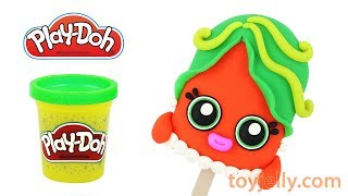 Play Doh Mommy Ice Cream Popsicle DIY How to Make with Playdoh Clay Chocolate Suprise Eggs for Kids