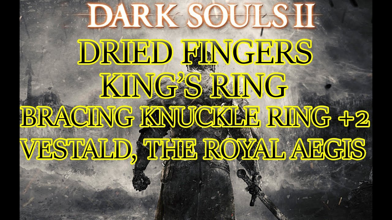 darksouls 2 how to get kings ring
