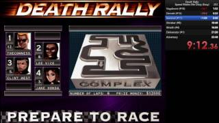 Скачать Death Rally 1996 RTA In 22 12 Current PB Old WR