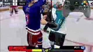 ESPN NHL 2K5 fighting tips