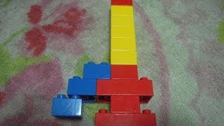 レゴデュプロろうそくの作り方(3歳ぐらいから作れますよ) LEGO Duplo...