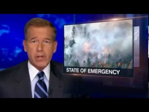 Scorched Earth : State of Emergency Apocalyptic Fires threaten entire Colorado Town (Jun 21, 2013)