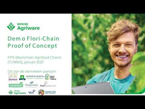 Demo Flori-Chain: een Blockchain pilot in sierteeltketens