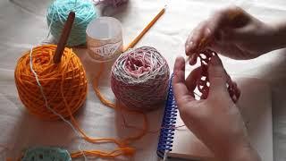 Как быстро научиться вязать крючком. Уроки для начинающих. Урок №3 Бабушкин квадрат