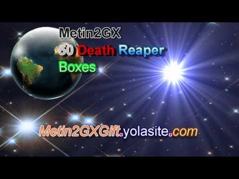Metin2GX Free 50 Death Reaper Boxes