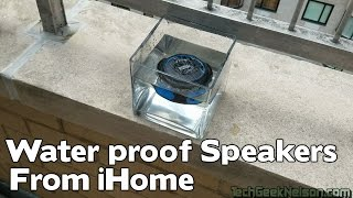 Waterproof Speakers from iHome
