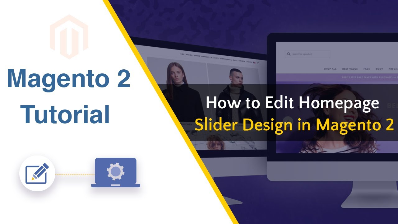 How To Edit Homepage Slider Design In Magento 2 Magento 2 Tutorial Youtube
