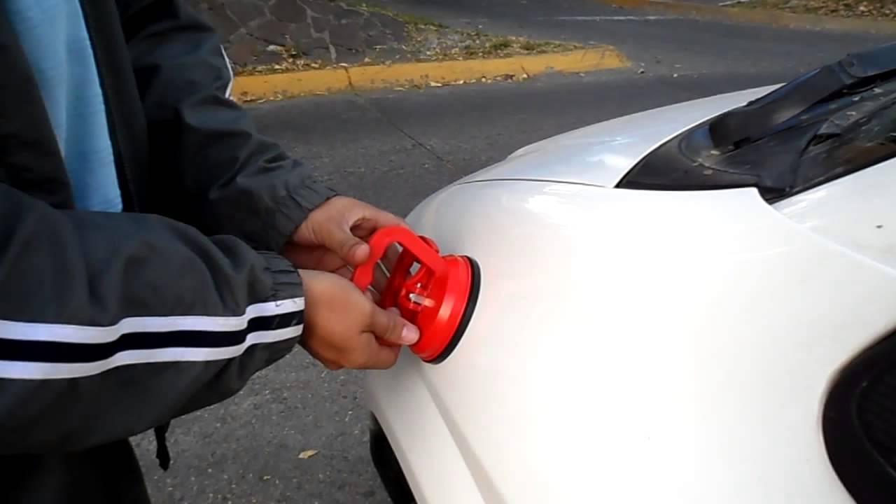 Elimina Abolladura De Tu Auto En Segundos Ventosas Novalish Youtube