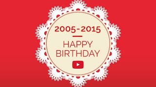 10 Years of YouTube - Milestones, Hits and Billions of Views