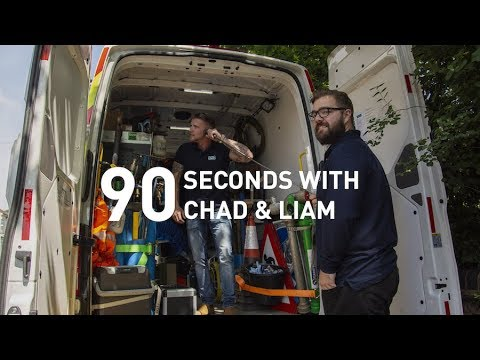 SEVERN TRENT | 90 SECONDS WITH CHAD & LIAM