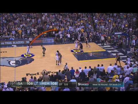 Memphis Grizzlies/San Antonio-Kawhi Leonard & Marc Gasol's - Game4 | April 26, 2017 | NBA Playoffs