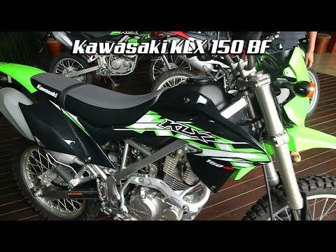 Kawasaki KLX 150 BF Motor Trail Warna Green Black ! Mp3