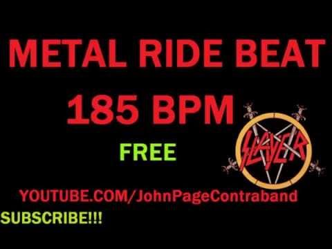 Metal Ride Beat Loop 185 BPM Drums Only
