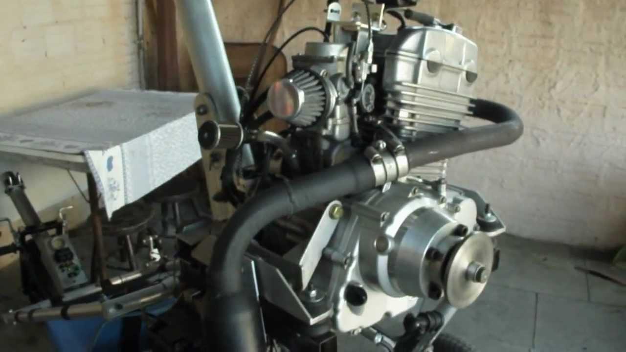 trike motor twister 250 - YouTube