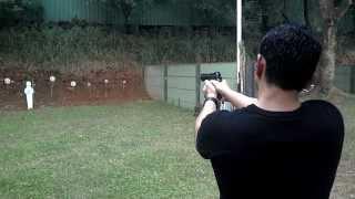 P2 Pindad Shot - Indonesian Gun - Pindad Made
