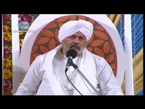 Nirankari vichar | H H Nirankari Baba Hardev Singh ji at U.P. Annual Sant Samagam Agra