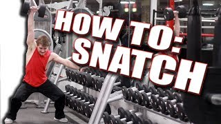 How To Do a Dumbbell Snatch