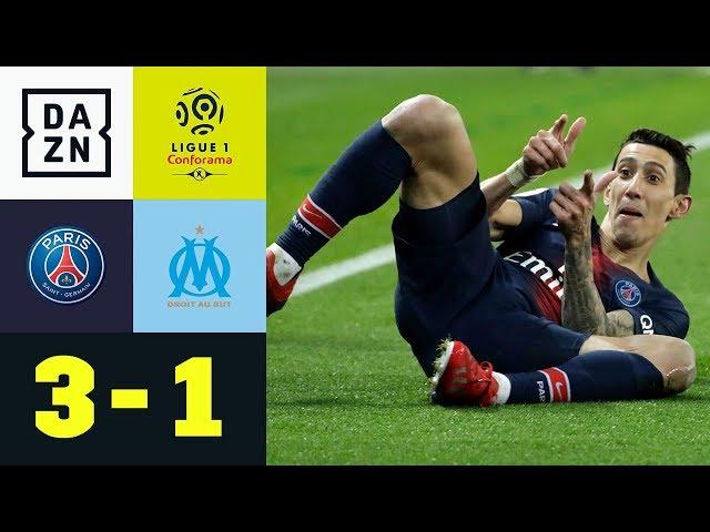 Angel Di Maria verzückt Prinzenpark | Paris Saint-Germain - Marseille 3:1 |Ligue 1 | DAZN Highlights