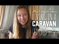 How much does living in a caravan cost in New Zealand?