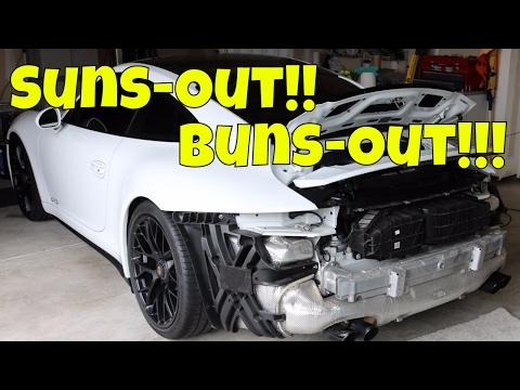 Porsche 911 991 GTS Rear Bumper Cover How To Remove & Install *Porsche GTS DIY*