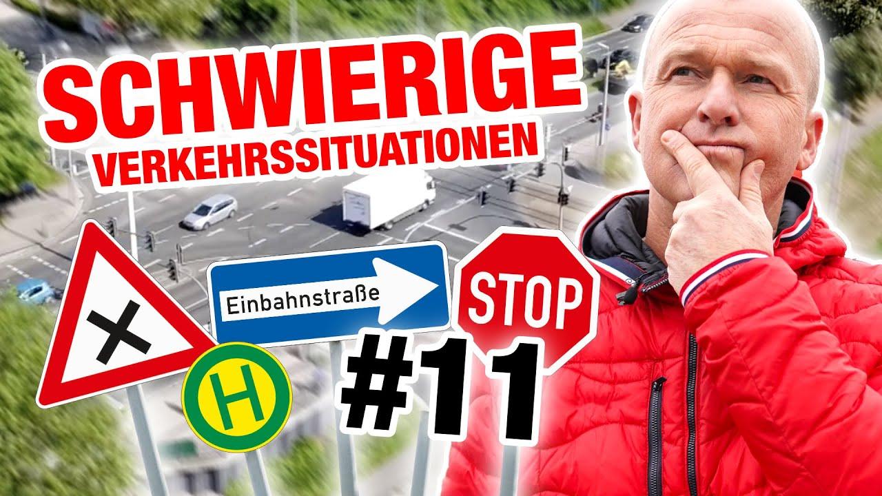 Führerschein - Schwierige Verkehrssituationen - einfach erklärt! 🚘 #11 | Fischer Academy