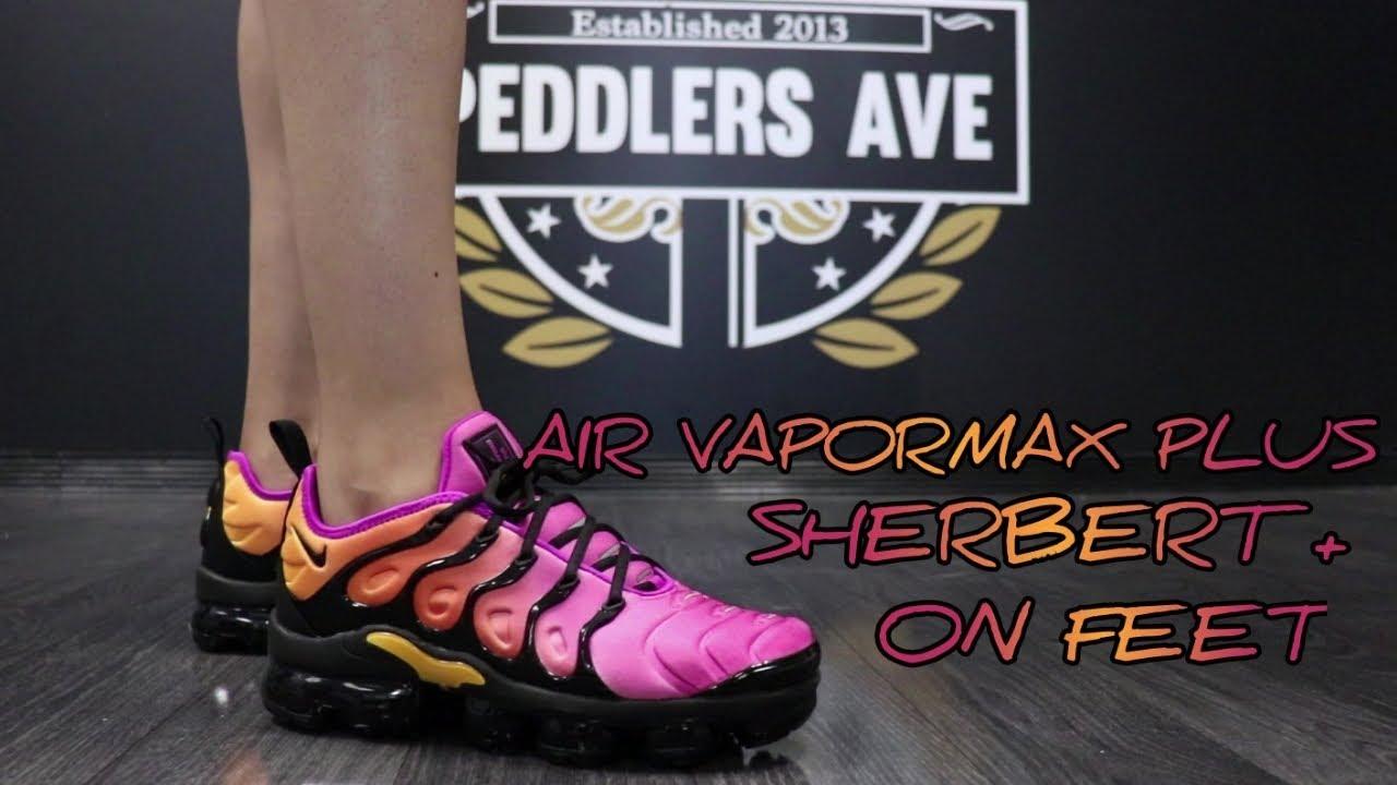 air vapormax plus sherbet