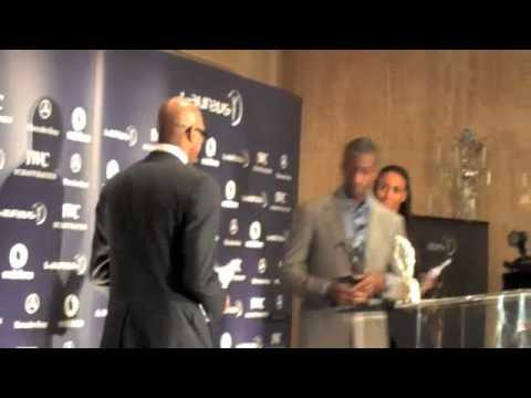 Michael Johnson & Edwin Moses Drop Usain Bolt