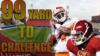 WHO CAN RUN A 99 YARD TD FIRST? DESHAUN WATSON OR JALEN HURTS? NATIONAL CHAMPIONSHIP BATTLES NCAA 14
