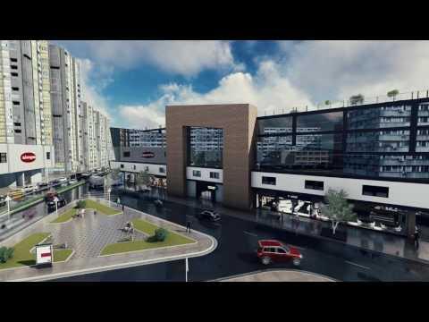 3D Architecture animation - dipl.Rad