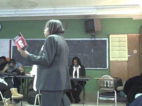 Permission to Speak: Yvonne Pointer visiting Cleveland School of the Arts
