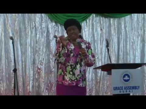 RCCG Grace Assembly Dubai 2014 Annual All Sisters Retreat Service