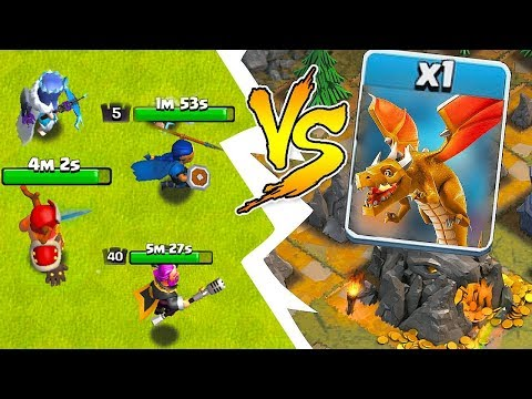 """WE.......ARE GONNA DIE!!! """"Clash Of Clans"""" Boss Vs. All Heroes"""