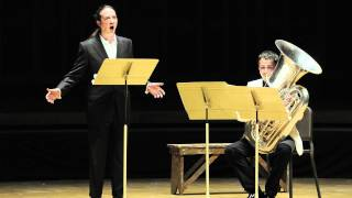 Charles Wuorinen, Never Again the Same, David Salsbery Fry, bass-baritone