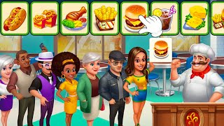 Chef DC 🥪+🍽 : Cooking City: chef, restaurant & cooking games Android Gameplay #2 screenshot 3