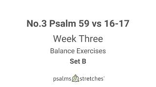 No.3 Psalm 59 vs 16-17 Week 3 Set B