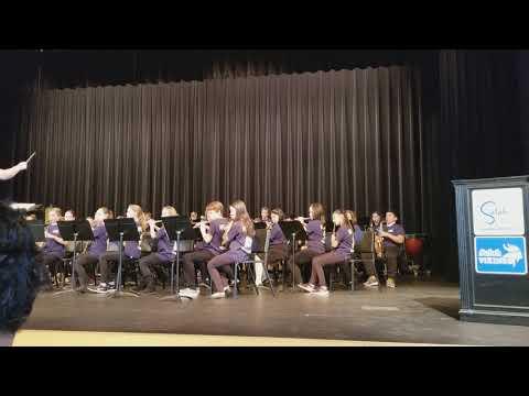 Selah middle school band concert