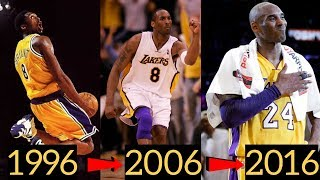 Kobe Bryant's Best Play Each Season (1996 - 2016)