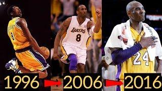 Kobe Bryant's Best Play Each Season (1996 - 2016)