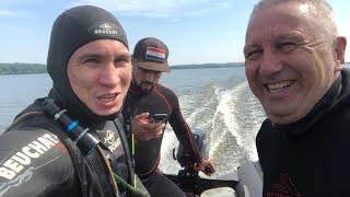Дневная подводная охота на Амура Подводная охота на Кармановском водохранилище 2020