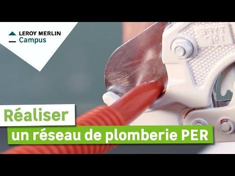 Comment Réaliser Un Réseau De Plomberie Per Leroy Merlin